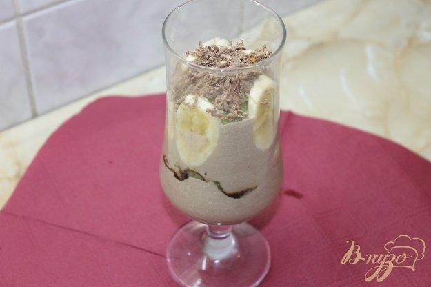 Шоколадно - сирний десерт із фруктами. Як приготувати з фото