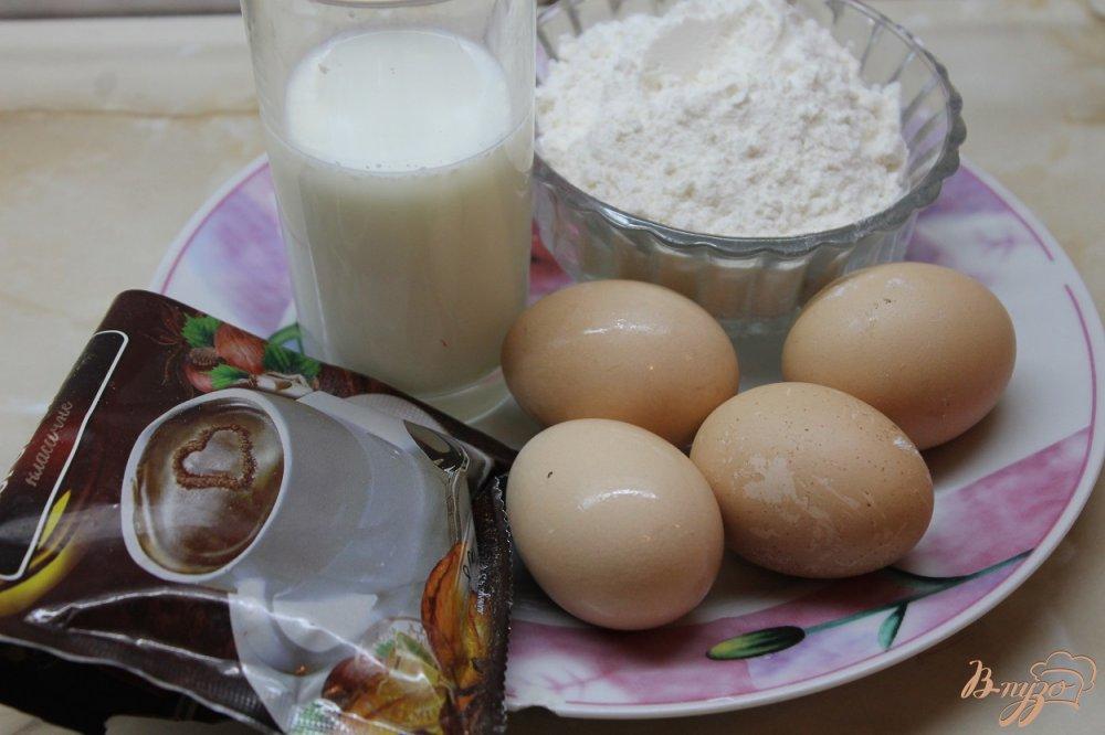 Фото приготовление рецепта: Сладкие блинные роллы шаг №1