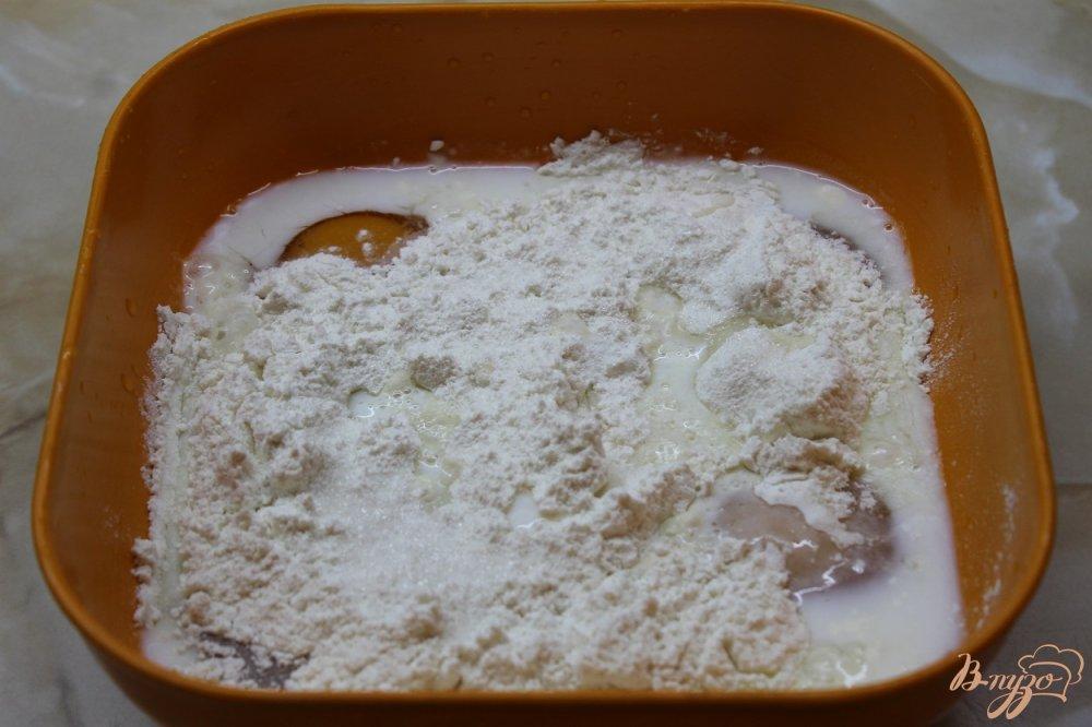 Фото приготовление рецепта: Сладкие блинные роллы шаг №2