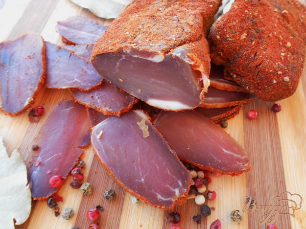 Сыровяленая свинина рецепт с фото