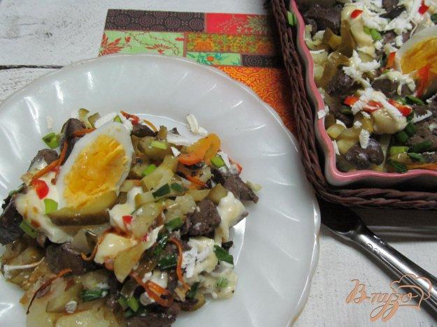 фото рецепта: Салат из печени