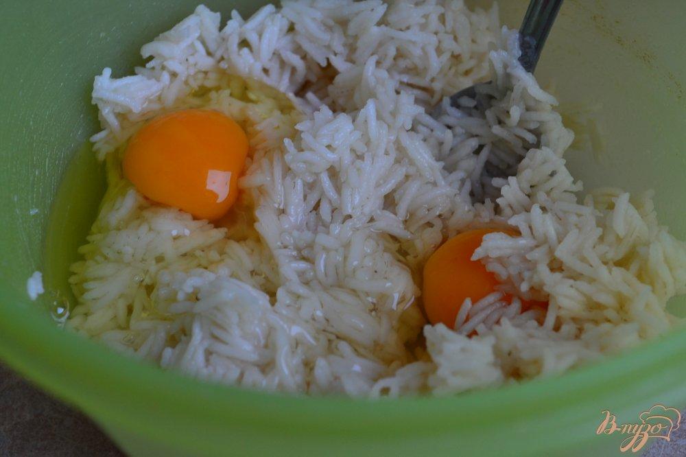 Фото приготовление рецепта: Овощной суп с рисовыми шариками шаг №4