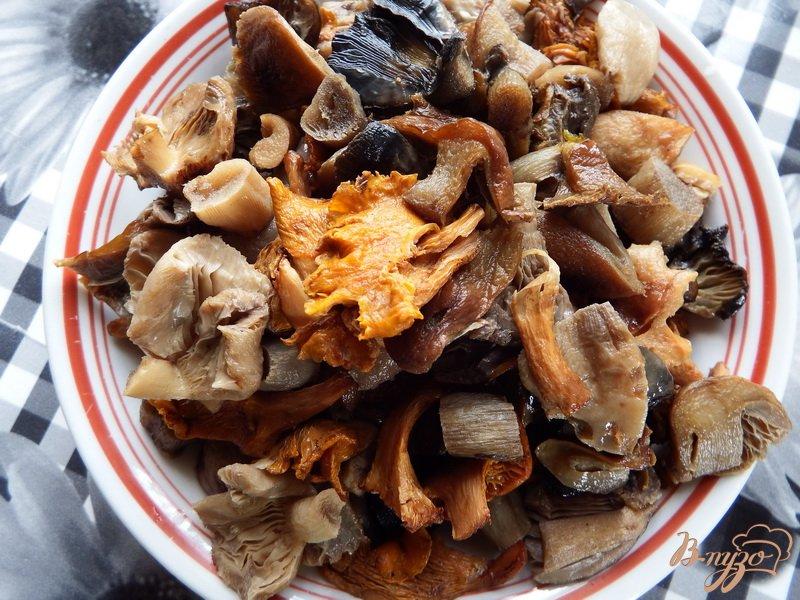 Фото приготовление рецепта: Тушеная свинина с грибами шаг №1