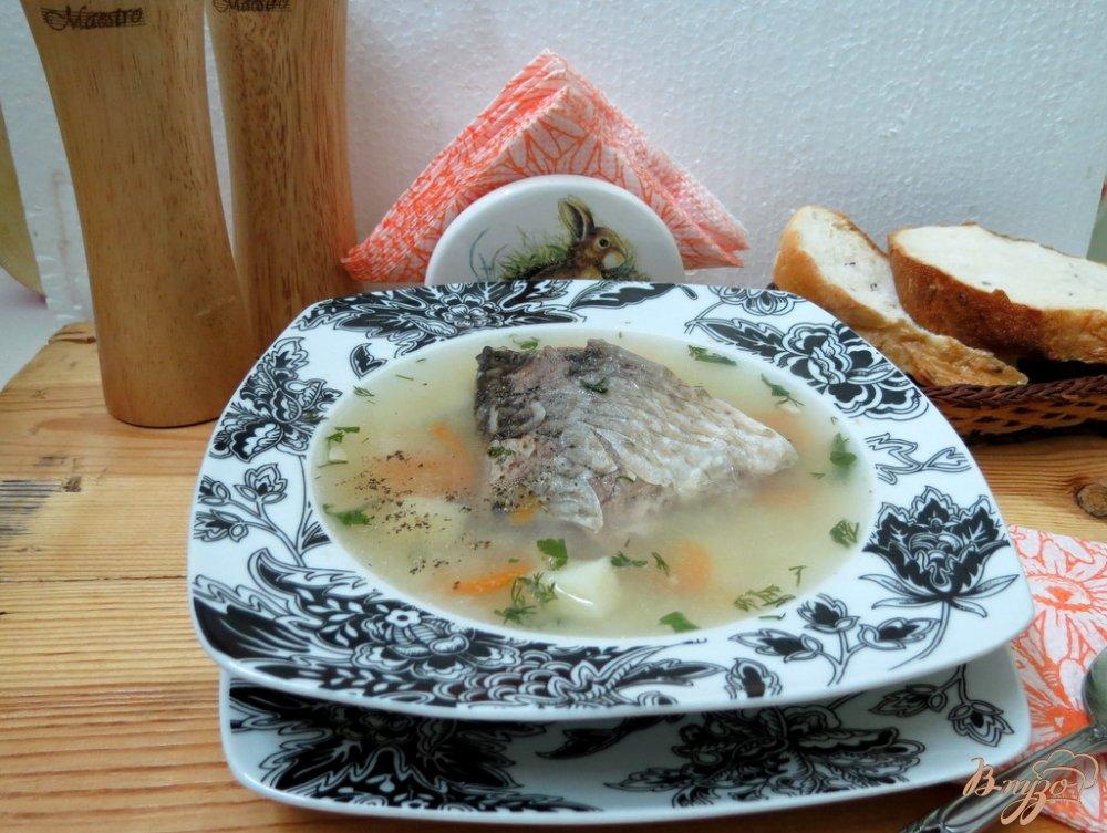 Фото приготовление рецепта: Суп с карасём шаг №9