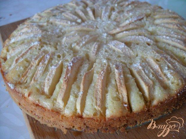 фото рецепта: Пирог с творогом, яблоками и цукатами