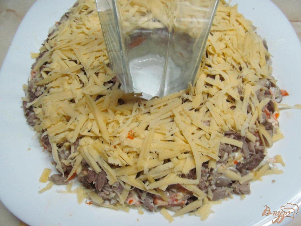 Фото приготовление рецепта: Салат Пасхальный венок шаг №8