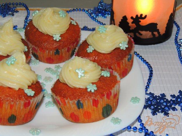 фото рецепта: Апельсиновые кексы