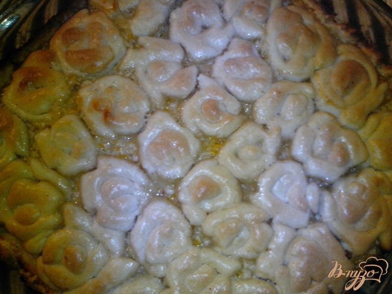 Фото приготовление рецепта: Пирог лимонный шаг №6