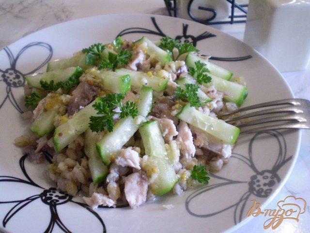 Фото приготовление рецепта: Дачный салат шаг №7