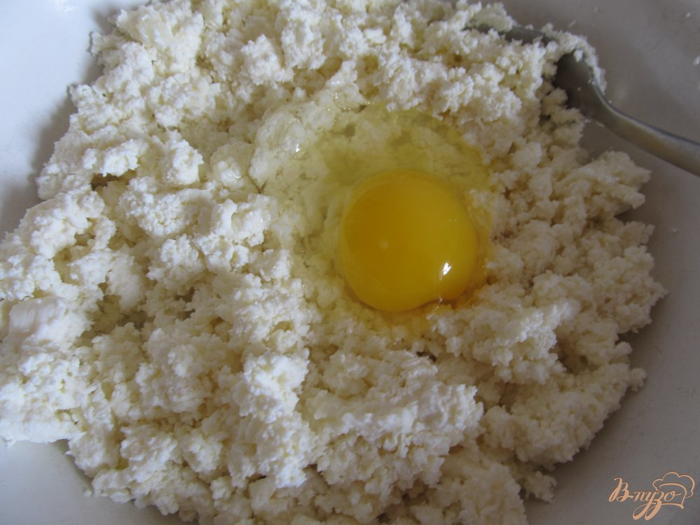 Фото приготовление рецепта: Сырники