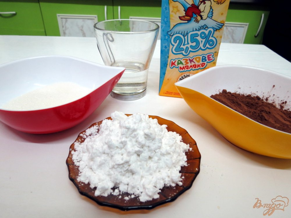 Фото приготовление рецепта: Кисель из какао по-эстонски шаг №1