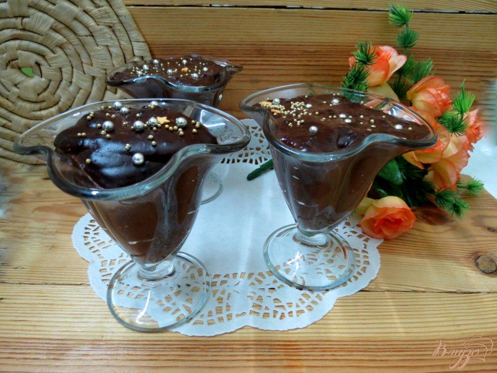 Фото приготовление рецепта: Кисель из какао по-эстонски шаг №8