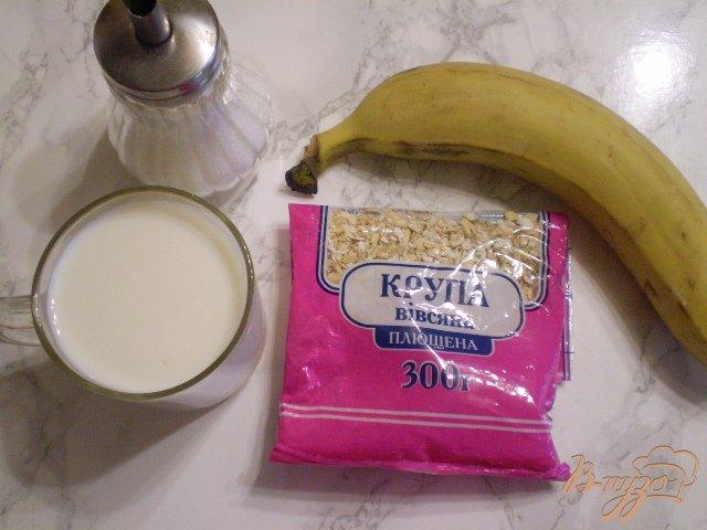 Фото приготовление рецепта: Быстрый завтрак из овсянки шаг №1
