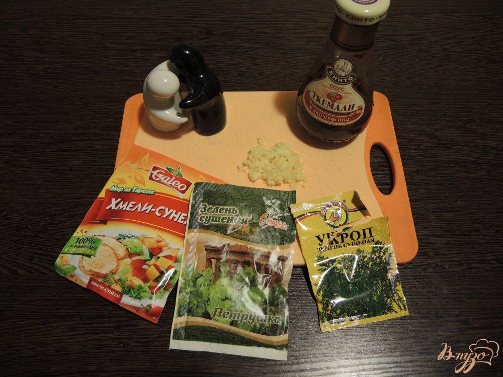 Фото приготовление рецепта: Суп харчо с соусом ткемали шаг №8