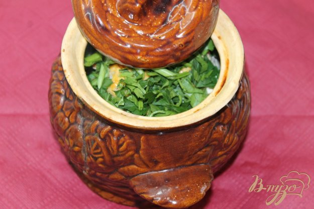 фото рецепта: Картофель с фрикадельками запеченные под сыром