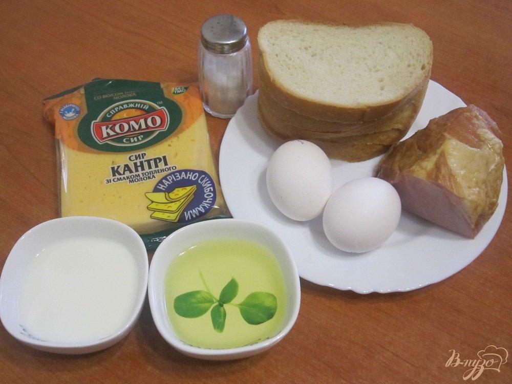 Фото приготовление рецепта: Французские гренки шаг №1