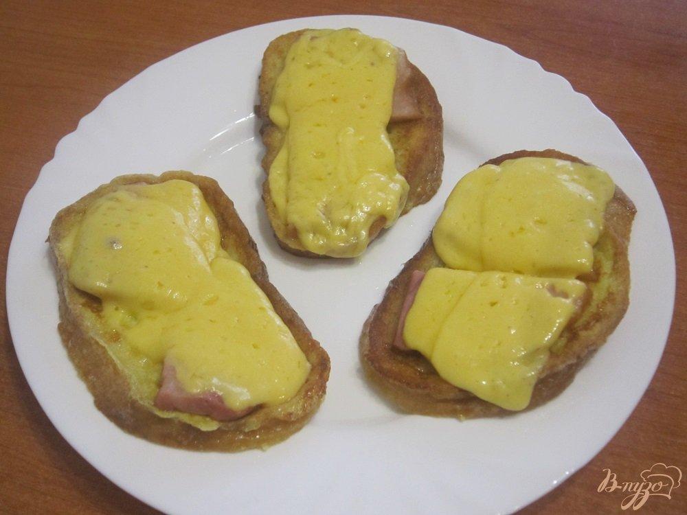 Фото приготовление рецепта: Французские гренки шаг №7