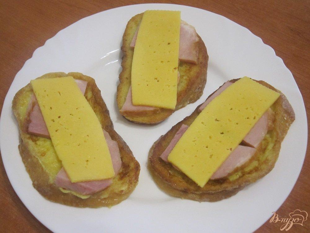 Фото приготовление рецепта: Французские гренки шаг №6