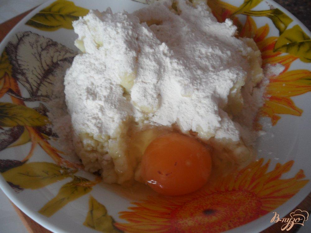 Фото приготовление рецепта: Зразы со свиным фаршем шаг №2