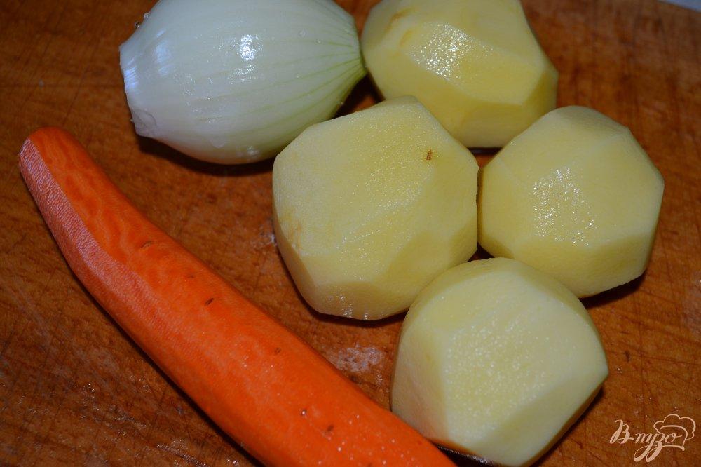 Фото приготовление рецепта: Гороховый суп-пюре с говядиной шаг №2