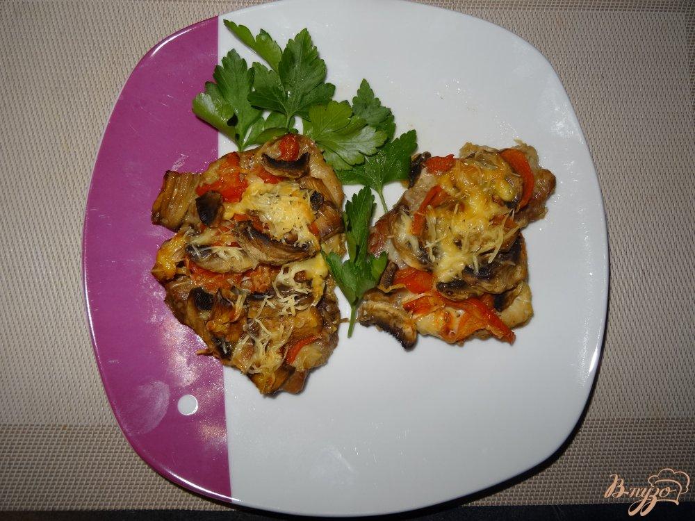 Фото приготовление рецепта: Мясо по-европейски шаг №7