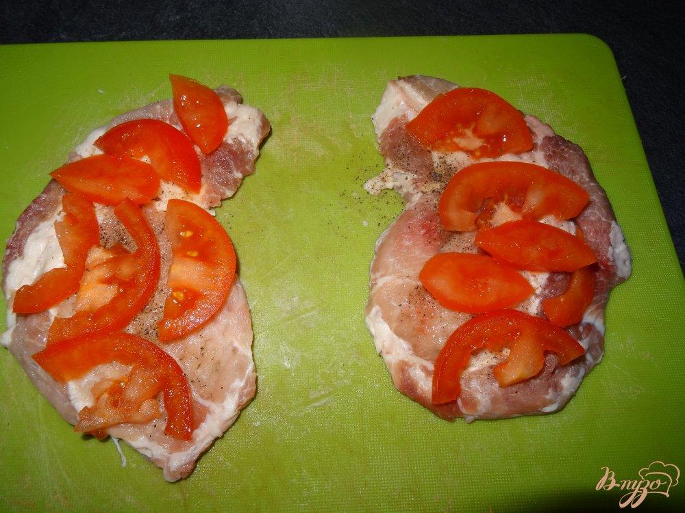Фото приготовление рецепта: Мясо по-европейски шаг №4
