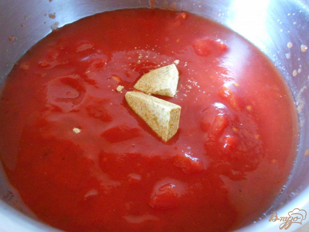 Фото приготовление рецепта: Томатный суп-пюре по- средиземноморски шаг №1