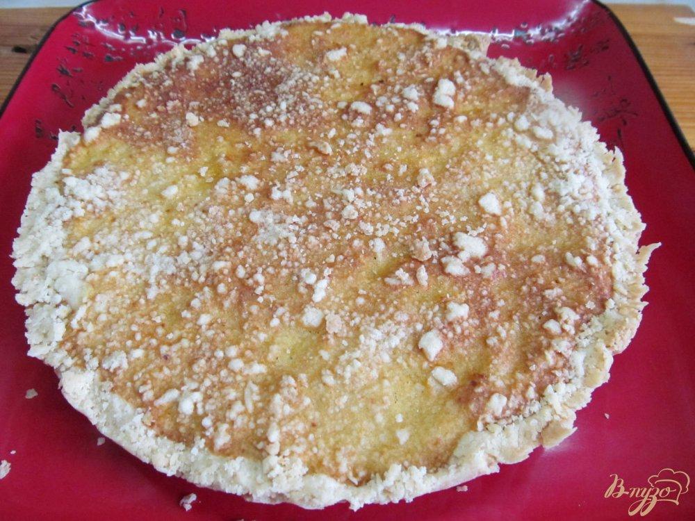 Фото приготовление рецепта: Пирог с мандариновой начинкой шаг №8
