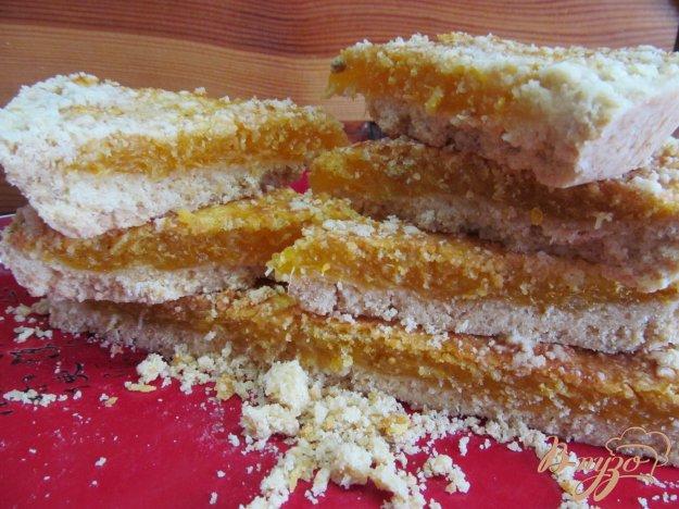 фото рецепта: Пирог с мандариновой начинкой