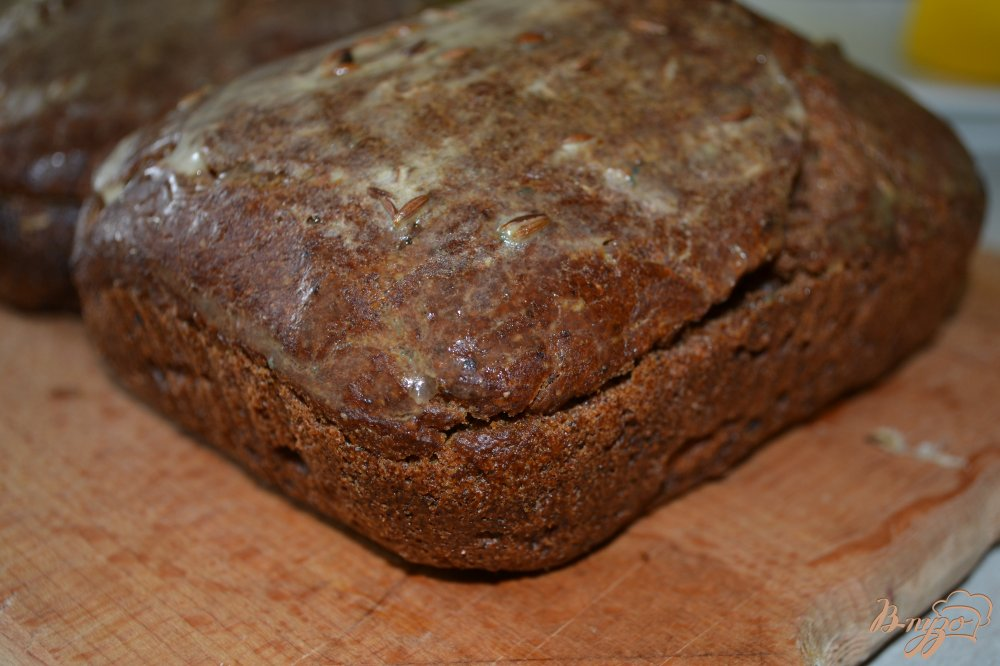 Фото приготовление рецепта: Бородинский хлеб шаг №8