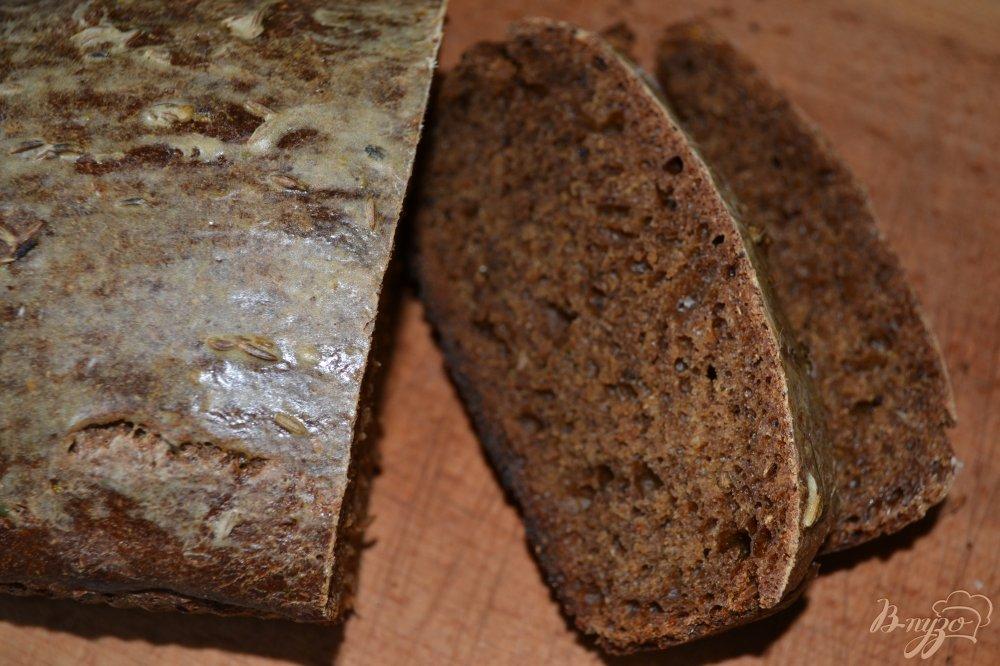 Фото приготовление рецепта: Бородинский хлеб шаг №9