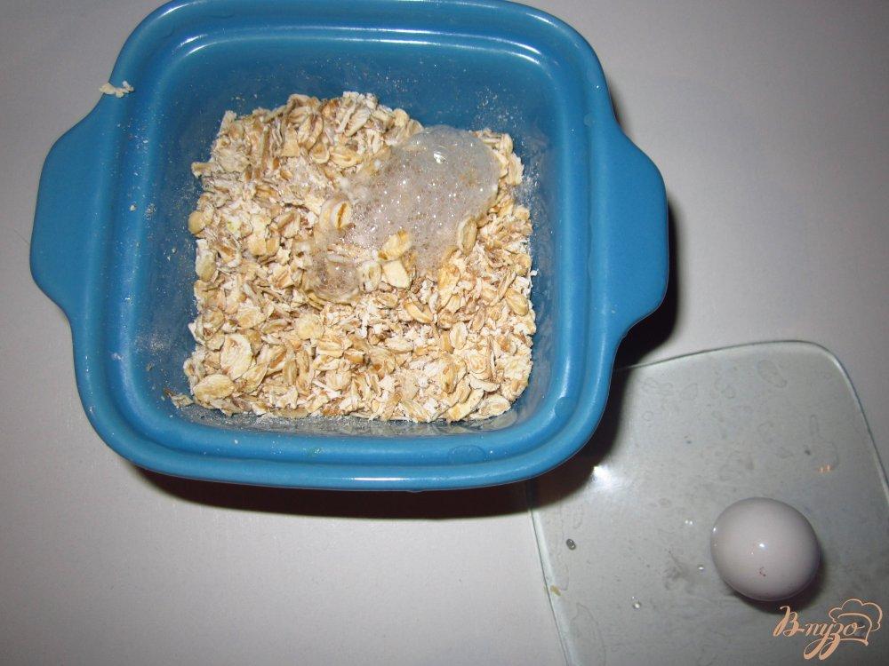 Фото приготовление рецепта: Холодный завтрак из овсянки и клюквы шаг №2