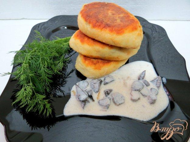 Зрази картопляні з грибами. Як приготувати з фото