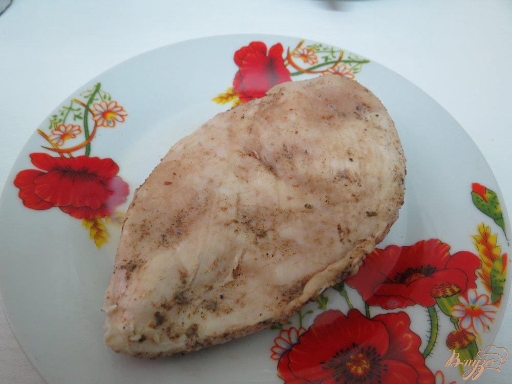 Фото приготовление рецепта: Куриное филе в молоке шаг №6
