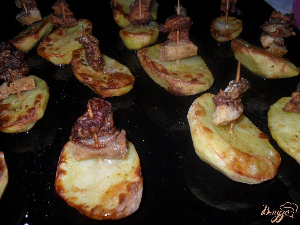 Фото приготовление рецепта: Картофельные