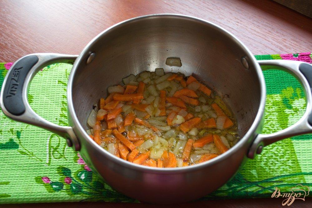 Фото приготовление рецепта: Суп с бужениной шаг №2