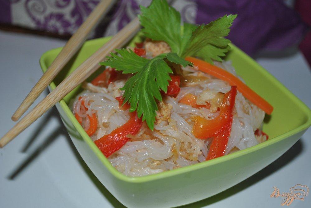Фото рецепт лапша с овощами