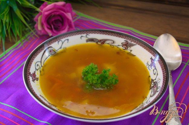 фото рецепта: Суп с кусочками говядины