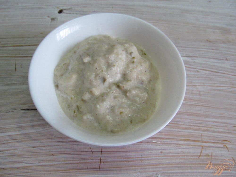 Фото приготовление рецепта: Блинчики с домашним мороженым шаг №7