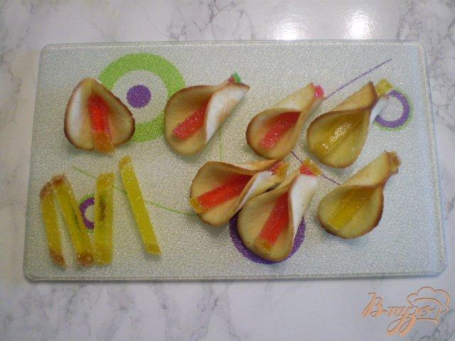 Фото приготовление рецепта: Каллы шаг №7
