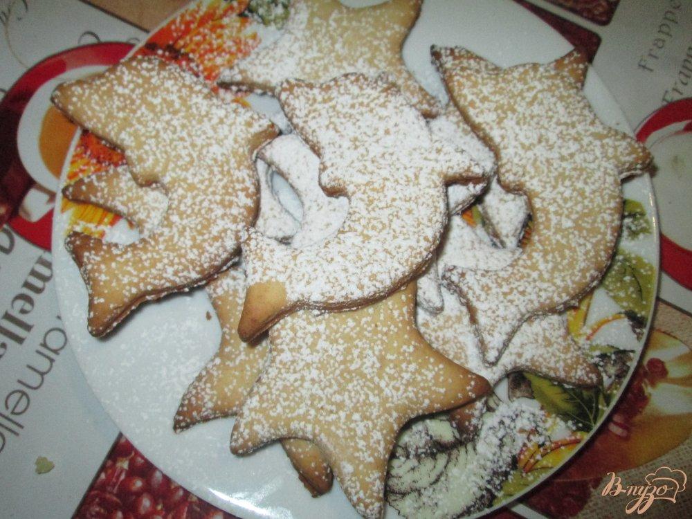 Фото приготовление рецепта: Медовое печенье на сметане шаг №7