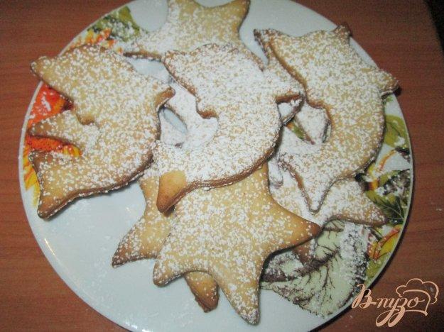 фото рецепта: Медовое печенье на сметане