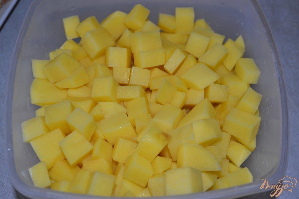 Фото приготовление рецепта: Овощной микс с говядиной в мультиварке шаг №2