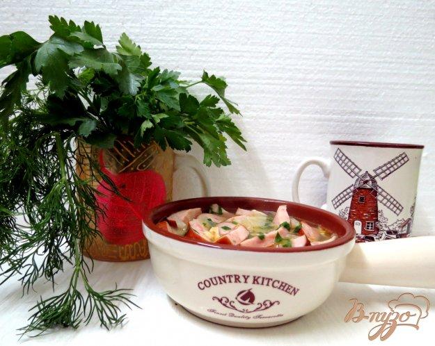 фото рецепта: Крестьянский суп с домашними колбасками