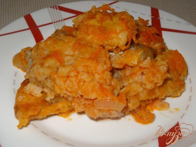 фото рецепта: Филе хека в томатном соусе