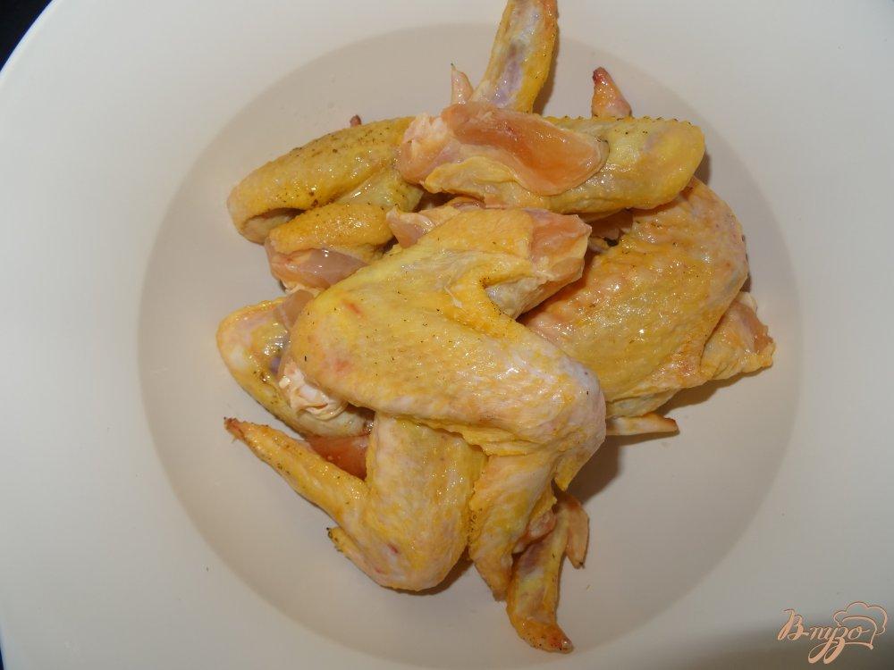 Фото приготовление рецепта: Куриные крылышки маринованные в майонезе шаг №1