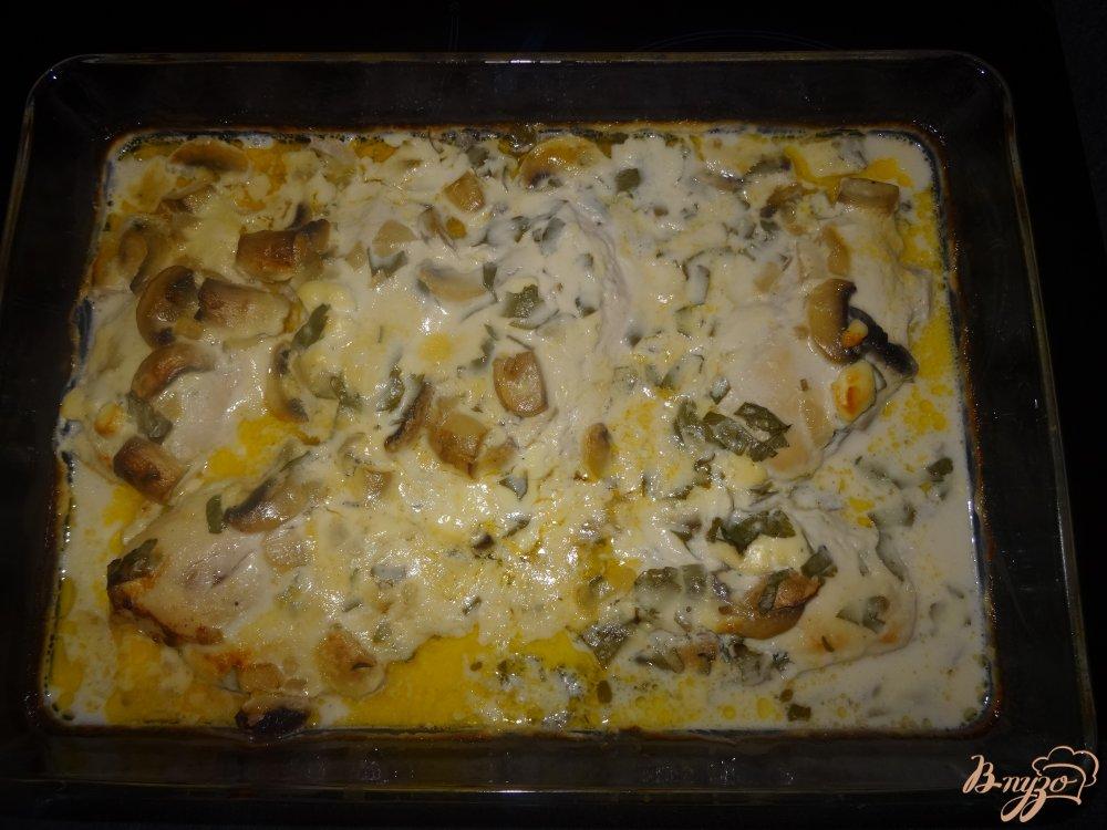 Фото приготовление рецепта: Куриная грудка в винном маринаде шаг №11