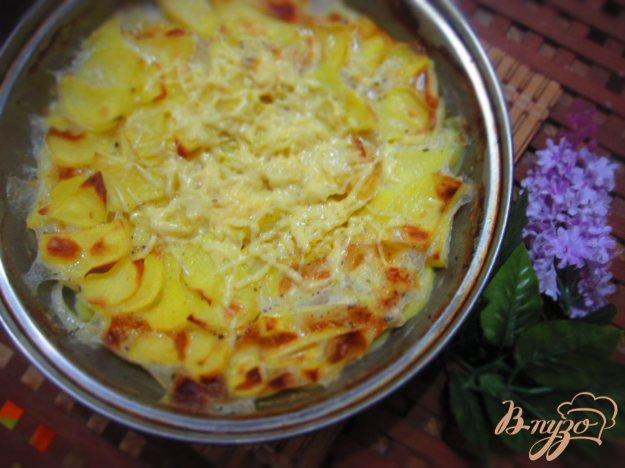 фото рецепта: Картофель запеченный в молоке