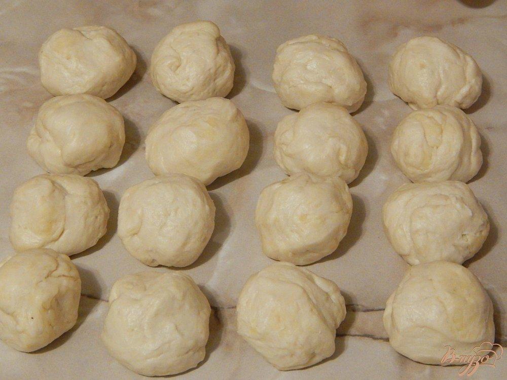 Фото приготовление рецепта: Чебуреки на заварном тесте шаг №9