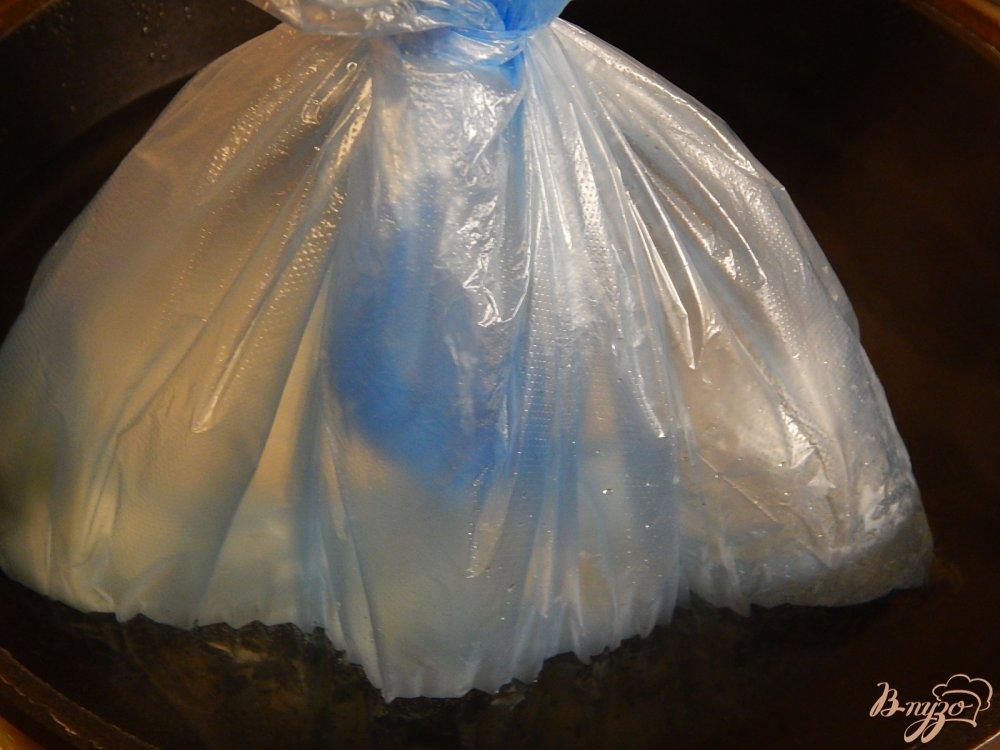Фото приготовление рецепта: Кокосовый омлет шаг №7